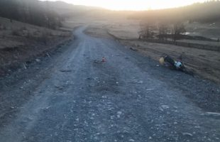 ДТП в Улаганском районе: мотоциклист выехал на встречную полосу