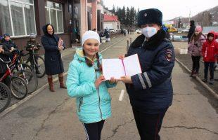 В Республике Алтай проводят вело инструктажи для школьников